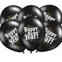 BALONY sylwestrowe Happy New Year 6szt