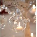 BOMBKI wiszące świeczniki 4szt