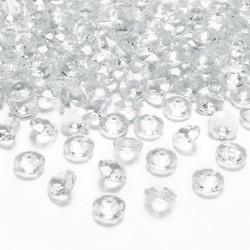 DIAMENCIKI ozdobne na stoły BEZBARWNE 100szt