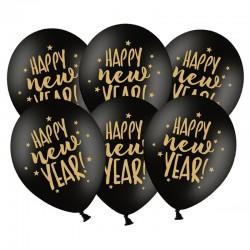 BALONY sylwestrowe Happy New Year 50szt