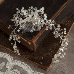 GRZEBYK ślubny do włosów Esme (15)