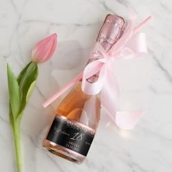 WINO MUSUJĄCE Premium na Urodziny Z IMIONAMI 200ml Rosegold Black