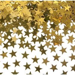 KONFETTI gwiazdki złote 30g