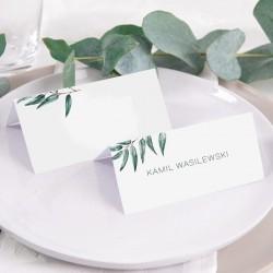 WINIETKA personalizowana z nadrukiem Green Leaf