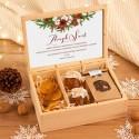 ZESTAW firmowy świąteczny w skrzyni Zdrowe Święta Z LOGO