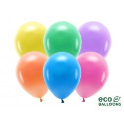 BALONY EKO biodegradowalne 30cm 10szt PASTELOWE