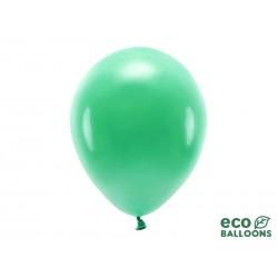 BALONY EKO biodegradowalne 30cm 10szt BUTELKOWA ZIELEŃ
