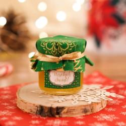 PREZENT świąteczny miód w słoiczku Zielone Święta