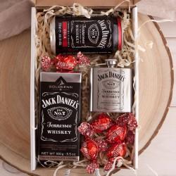 PREZENT świąteczny dla Niego Z PODPISEM pudełko Czekolada z whiskey