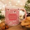 KUBEK świąteczny na prezent dla dziewczynki Z IMIENIEM Jednorożec