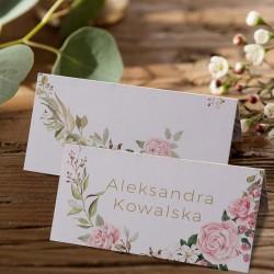 WINIETKA personalizowana Rustykalne Kwiaty
