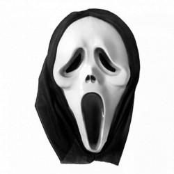 PRZEBRANIE na Halloween MASKA KRZYK 30x20cm