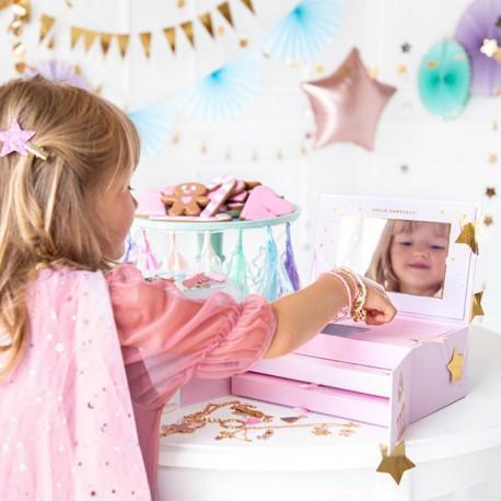 PREZENT świąteczny dla dziecka Kalendarz Adwentowy z biżuterią HIT