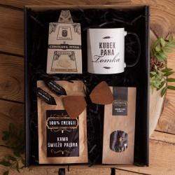 PREZENT dla Nauczyciela Z IMIENIEM kubek kawa i herbata Mega Box I