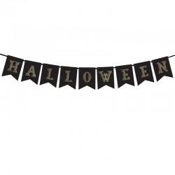 BANER Halloween Czarny 175cm