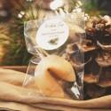 CIASTECZKA świąteczne Woodland Z NAZWĄ FIRMY 10szt