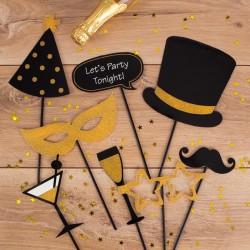 REKWIZYTY do fotek Lets Party Tonight! 8 elementów