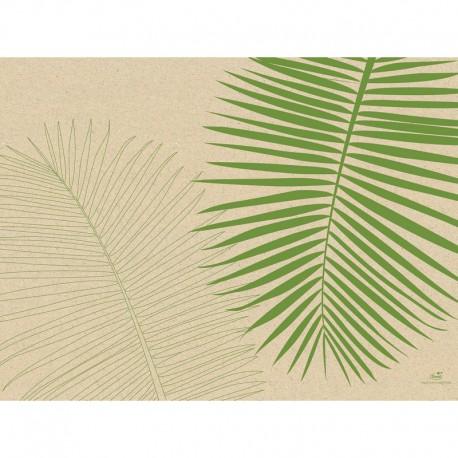 PODKŁADKI ekologiczne Leaf 30x40cm 1000szt PRODUKOWANE Z TRAWY