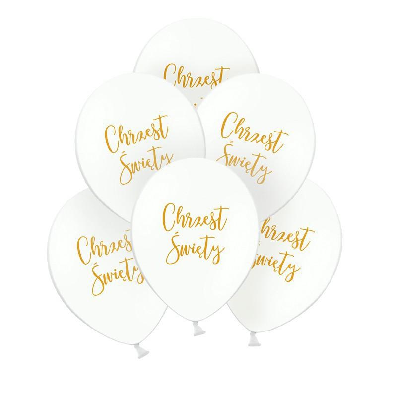 balony na Chrzest Święty