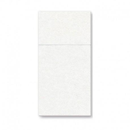 KIESZONKI na sztućce Białe 50 SZTUK