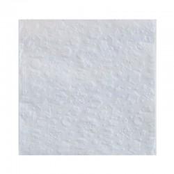 SERWETKI papierowe tłoczone Śnieżynki 33x33cm 20szt SREBRNE