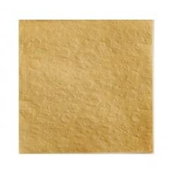 SERWETKI papierowe tłoczone Śnieżynki 33x33cm 20szt ZŁOTE