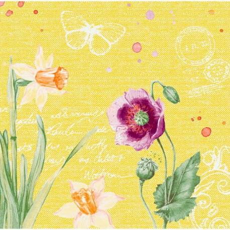 SERWETKI flizelina Spring lilies 40x40cm 360szt