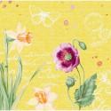 SERWETKI flizelinowe Spring lilies 40x40cm 360szt