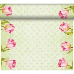 BIEŻNIK Love Tulips 0,4x96m