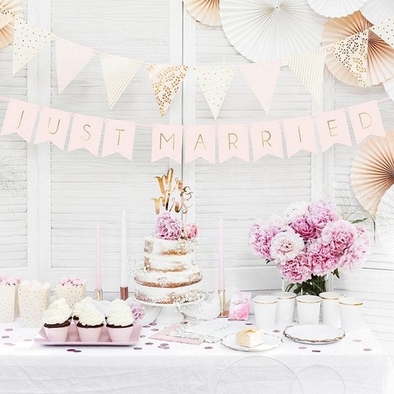 Girlanda do dekoracji sali weselnej