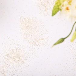 BIEŻNIK obrus organza Złoty Pył 48cmx9m