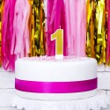 ŚWIECZKA urodzinowa Roczek ZŁOTA