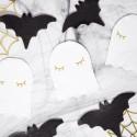 SERWETKI na Halloween Duch Białe 20szt