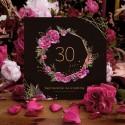 ZAPROSZENIA na 30 urodziny Boho 10szt (+koperty)