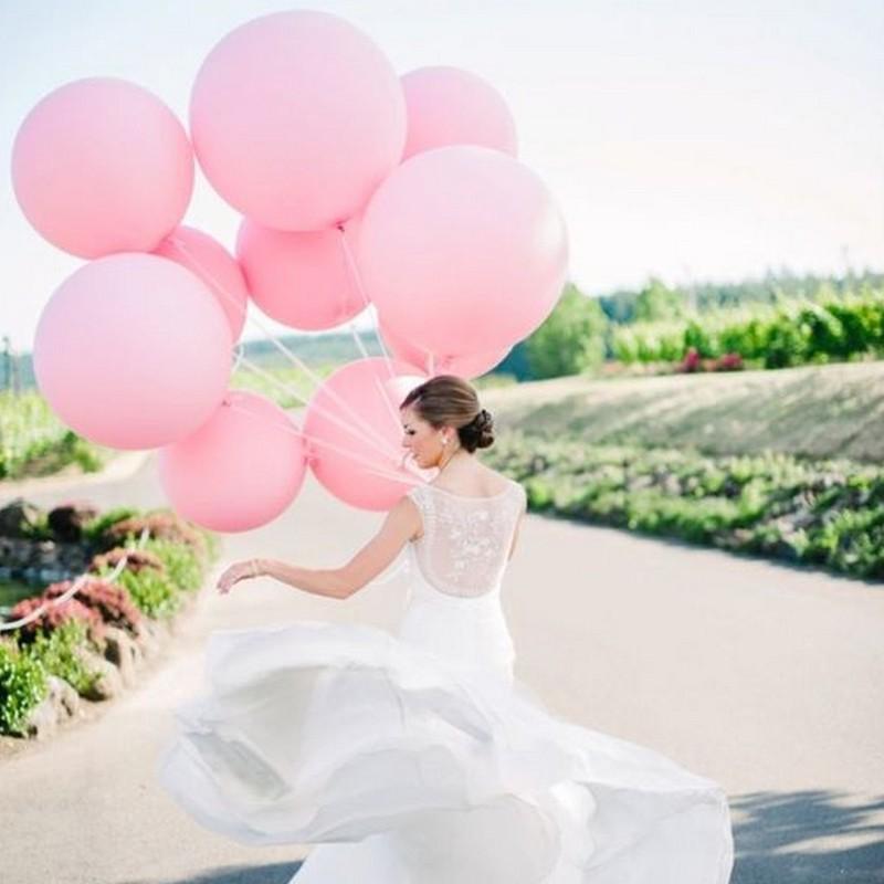 pastelowe balony giganty