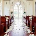 PŁATKI RÓŻ do dekoracji ślub 500szt KREMOWE