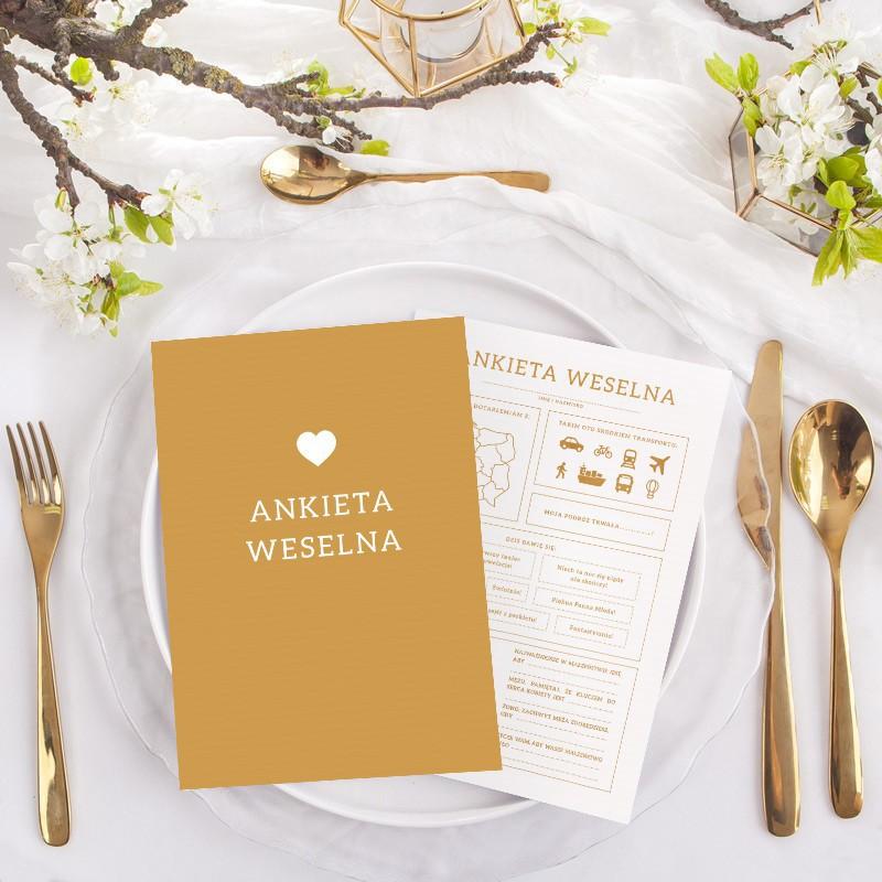Ankiety weselne dla gości