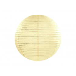 LAMPION papierowy 35cm KREMOWY
