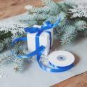WSTĄŻKA tasiemka satynowa do prezentów 1cm 25m RÓŻNE KOLORY