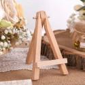 STOJAK sztaluga na winietki bileciki drewniany 12cm