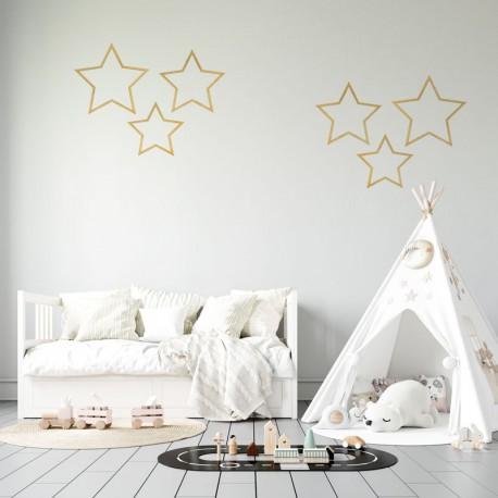 Zawieszki dekoracyjne Gwiazdy, mix