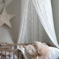 BALDACHIM do pokoju dziecka i nad łóżeczku KORONKA LUX