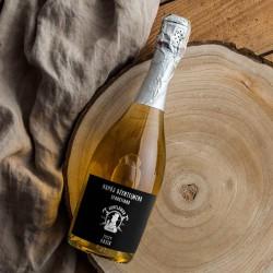 PREZENT na Urodziny wino musujące Z IMIENIEM 750ml DUŻE Napój Dżentelmenów