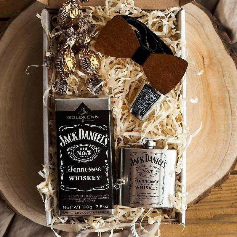 Świąteczny prezent dla mężczyzny w stylu Jack Daniels