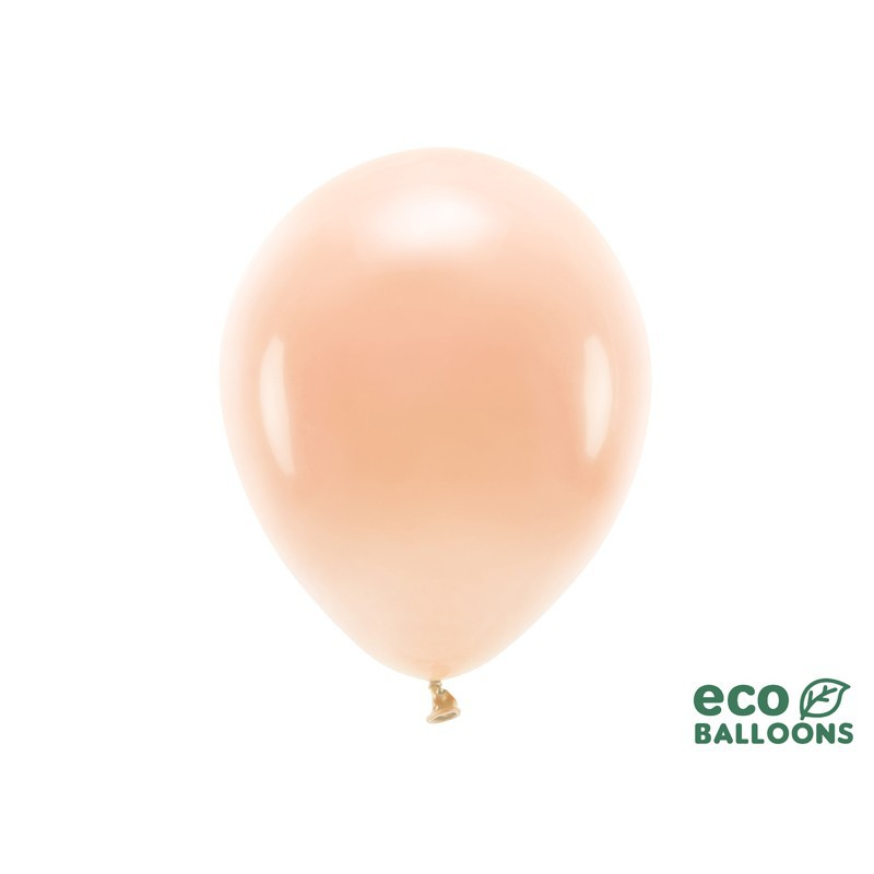 Ekologiczne brzoskwiniowe balony do dekoracji wnętrza restauracji