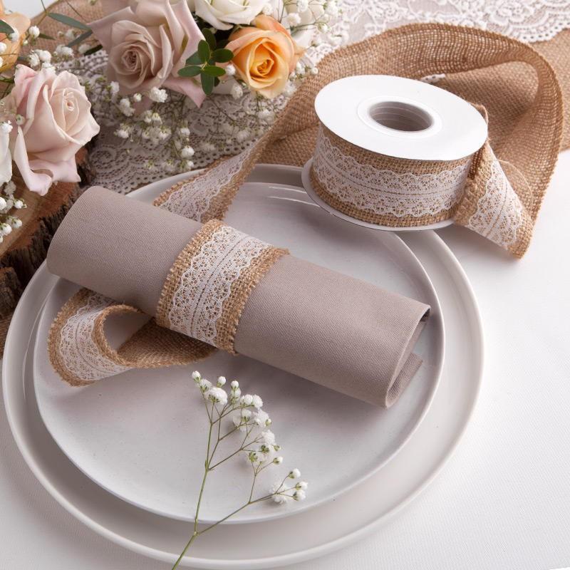 Tasiemka do dekoracji na wesele
