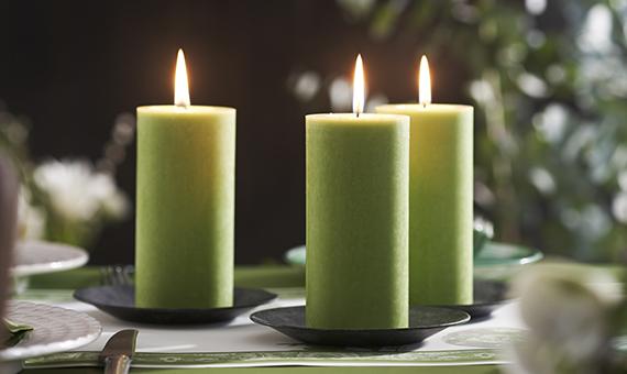Ekologiczne świece
