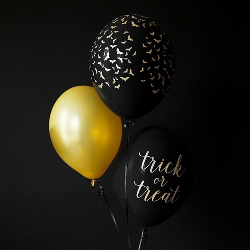 balony-halloween-trick-or-treat