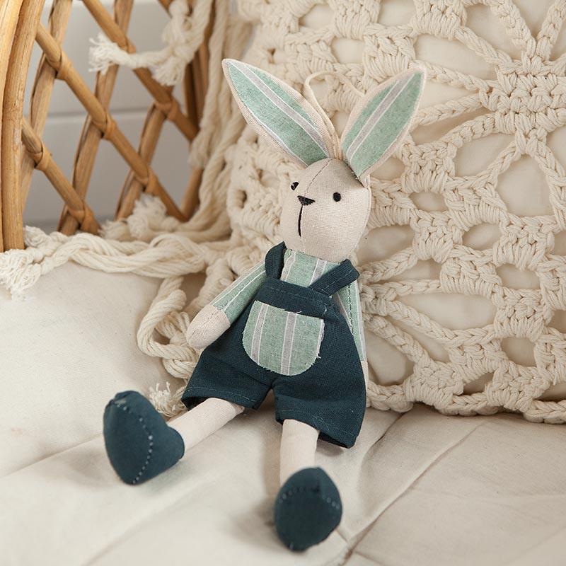 Materiałowy króliczek na prezent