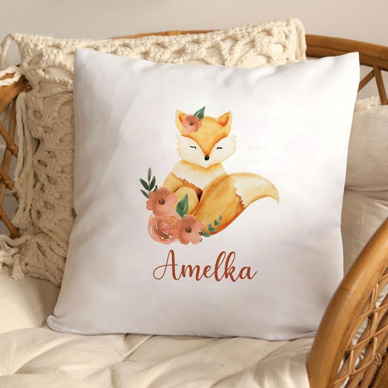 Poduszka dla dziecka Uroczy Lisek